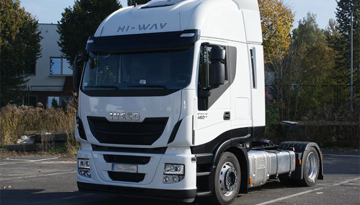 """alt=""""Transport międzynarodowy towarów DARA - Iveco"""""""